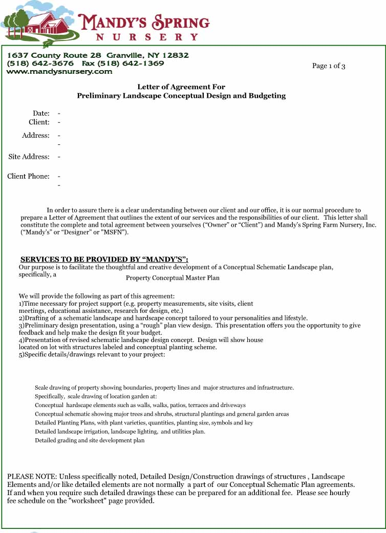 Letter-of-Agreement-Design